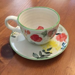 *FREE WITH BUNDLE* Anthropologie Teacup